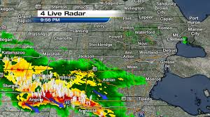 Usa Weather Map Metro Detroit Weather Updates To The Severe Weather Event