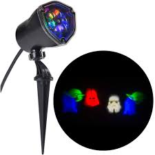 lightshow led projection star wars characters star wars rgbw stake