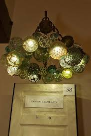 glass fishing float pendant light vintage glass fishing floats made into an awesome ceiling light