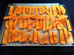 comment cuisiner patate douce frites de patate douce au four sans gluten cuisiner sans gluten