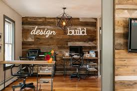 reclaimed wood wall table ingenious ways to bring reclaimed wood into your home office