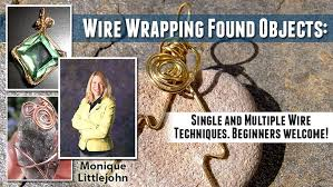How To Make Jewelry From Sea Glass - wire wrapping found objects making jewelry with sea shells sea