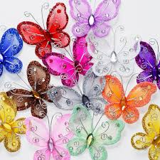 Wedding Decorations Butterflies Amazon Com Assorted Colors 2