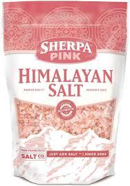Adding Salt To Coffee Amazon Com Sherpa Pink Gourmet Himalayan Salt 5 Lb Bulk Bag