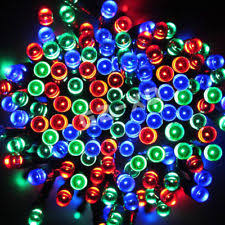 solar led xmas lights solar led christmas lights ebay