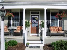 Front Porch Decor Ideas Front Porch Decorating Ideas White Furniture Set U2014 Completing Your