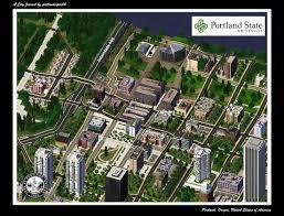 Map Downtown Portland by Portland Oregon Part 4 Downtown Portland An Alternate Universe