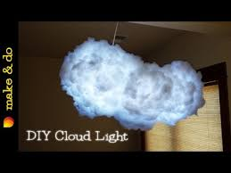 how to make a cloud light how to make a cloud light that changes colors diy youtube