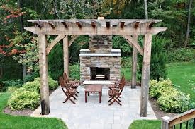 Outdoor Patio Fireplaces Outdoor Fireplace Traditional Patio Grand Rapids By Green