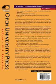 the student u0027s guide to research ethics open up study skills