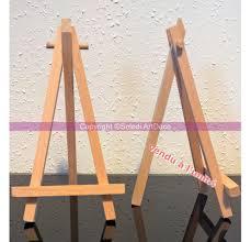 planche de hetre chevalet de table en bois 16cm comme porte menu de mariage
