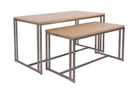 Nesting Desk Boutique Maple Nesting Tables Instore Design Display Retail