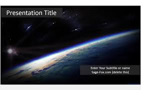 templates powerpoint earth free earth from space powerpoint 5936 sagefox powerpoint templates