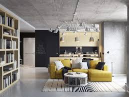 modern industrial kitchen the open plan industrial kitchen and living room combo luxervind