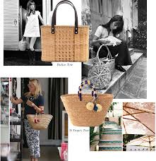 Theeffortlesschic Timeless Style The Straw Tote Kayu