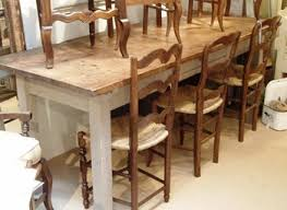 Cottage Style Dining Room Furniture by Farm Style Dining Room Table Provisionsdining Com