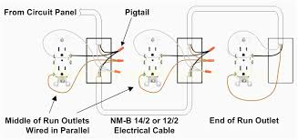 gfci receptacle wiring diagram gooddy org for alluring outlet
