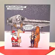 wars christmas card wars millennium falcon christmas cards by cardinky