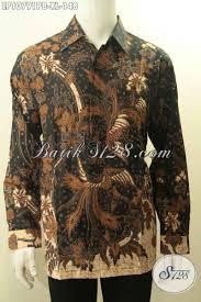 desain baju batik halus model baju batik pria dewasa pakaian batik elegan halus motif