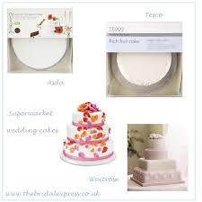 wedding cake asda waffa s supermarket wedding cakes clockwise from top left ok