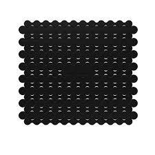 protege evier cuisine tapis fond evier noir egouttoir à vaisselle accessoires évier