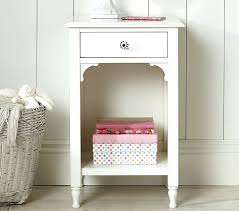 Pink Nightstand Side Table Side Table Pink Kid Bedside Table Lamps On Vintage White Bedroom