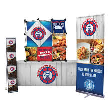table top banners for trade shows economy table top trade show display packages indydisplays