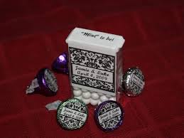 mint to be favors 24 personalized damask mint tins wedding favor boxes favors
