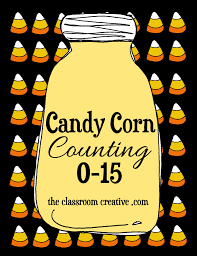 free printable candy corn counting activity halloween crafts