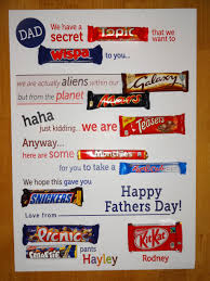 dad card ideas chocolate birthday card given me wings musings of a fairy