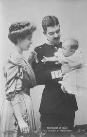 1906 king gustaf vi adolf princess margaret of sweden u0026 child
