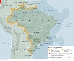 Map Of Rio De Janeiro Brazil U0027s Army Is Becoming A De Facto Police Force