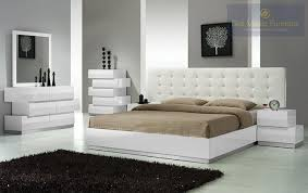 Best Master Spain White Lacquer  Pieces Platform Cal King Bedroom - Master bedroom sets california king