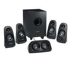 logitech z506 5 1 surround sound system with 3d stereo