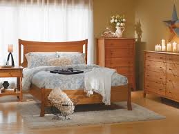 Natural Cherry Bedroom Furniture by Armstrong Natural Cherry Panel Bed Bernie U0026 Phyl U0027s Furniture