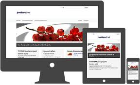 responsive design typo3 typo3 7 6 mustertemplate vorlage für webseiten jweiland net