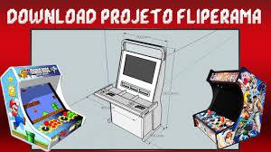 Excepcional Projeto Fliperama & BarTop | Vewlix | Evo XR Cade - YouTube @QJ57