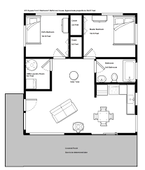 Small 1 Bedroom House Plans by Wonderful 24x24 House Plans Images Best Image Engine Jairo Us