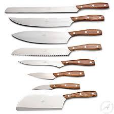 modern kitchen knives consigli kitchen knives chianino olive wood cutlery thatsarte