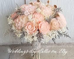 Shabby Chic Wedding Accessories by Blush Champagne Sola Wedding Bouquetfall Bouquetssola