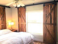 Barn Doors With Windows Ideas Barn Door Window Treatments Pinteres