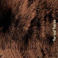 plush faux fur accent rug brown luxury fur rectangle grizzly