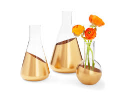 How To Paint A Glass Vase With Acrylic Paint 8 Diy Projects Using Gold Paint Hgtv