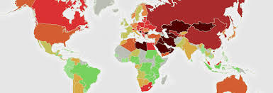 Most Accurate World Map by New Map Reveals The World U0027s Most Toxic Countries Inhabitat