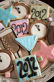 New Year S Eve Cookie Decorating Ideas by 24 Best Images About Cookies New Years Eve On Pinterest