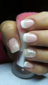 best 25 silver french manicure ideas on pinterest white glitter