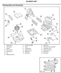 nissan altima 2005 blower motor resistor 2003 nissan xtrail glove box reason noisy fan bearings