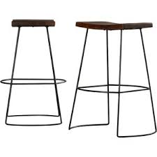 modern saddle seat bar stools counter stools allmodern