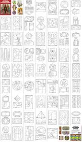 art deco stained glass patterns art deco stained glass pattern