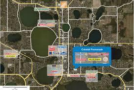 Winter Haven Florida Map by Colonial Promenade Phillips Edison U0026 Company